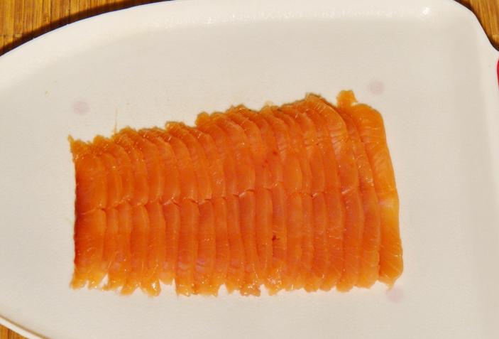 Рецепт Лаваш с красной рыбой