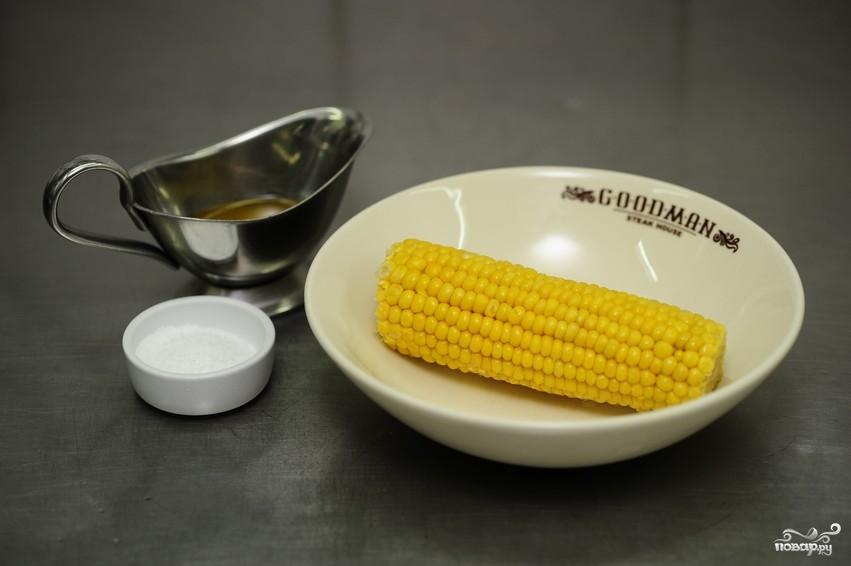 Кукуруза в духовке - фото шаг 1
