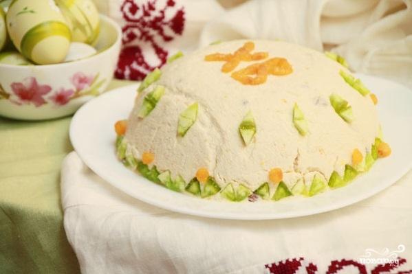 Пасха со сметаной и маслом - фото шаг 4