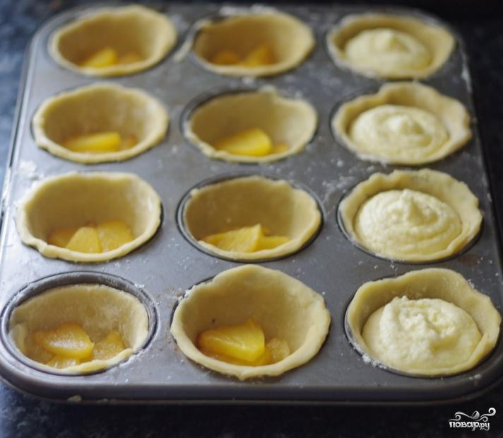 Тарталетки с ананасом - фото шаг 5