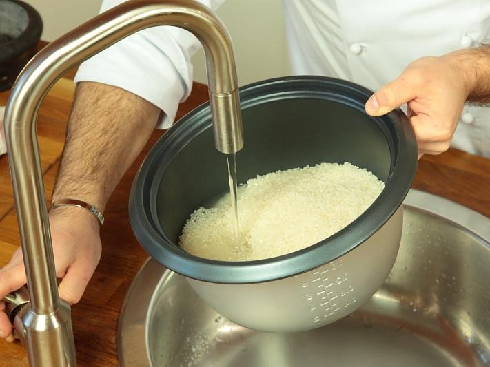 Рецепт Рис для роллов с уксусом
