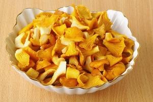 Рецепт Суп грибной из лисичек