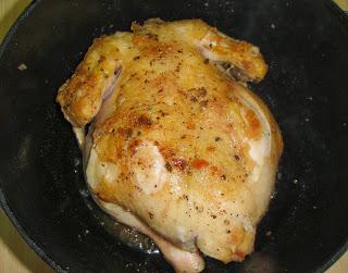 Курица в молоке в духовке - фото шаг 3