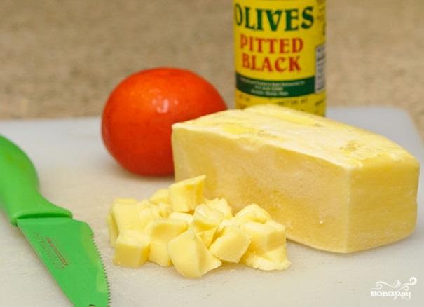 Острый сырный соус - фото шаг 1