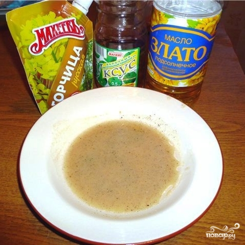 Рецепт Салат с омлетом