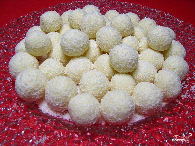 Рецепт Кокосовые конфетки