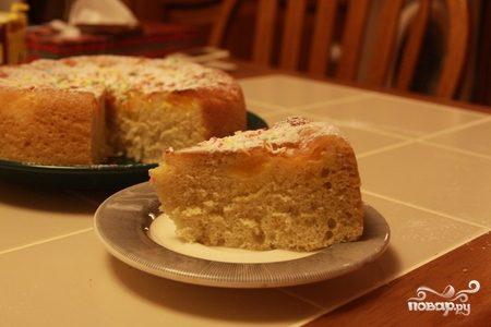 Рецепт Шарлотка с мандаринами