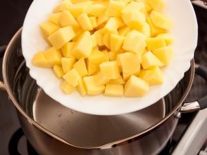 Суп кюфта с фрикадельками - фото шаг 6