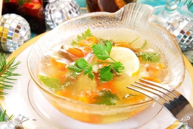 Рецепт Холодец из рыбьих голов