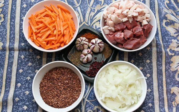 Рецепт Плов в казане из говядины