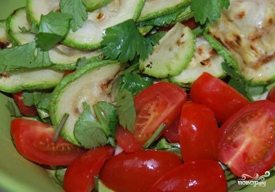 Салат по-итальянски - фото шаг 5