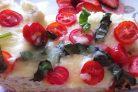 Пицца Маргарита на хлебе