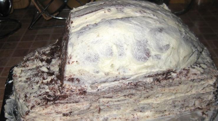 Торт на день рождения мальчику - фото шаг 20