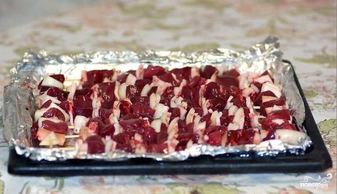 Печень индейки в духовке - фото шаг 4