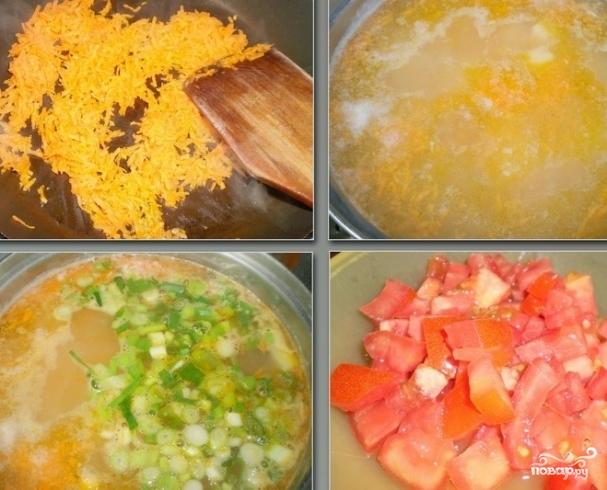 суп из консервов сайры пошаговый рецепт