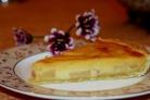 Перевернутый пирог с айвой