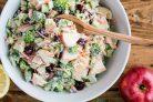 Салат с брокколи и яблоками