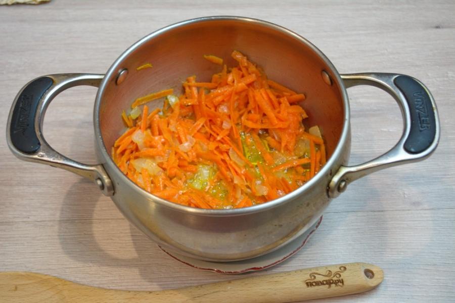 Суп на грибном бульоне - фото шаг 2