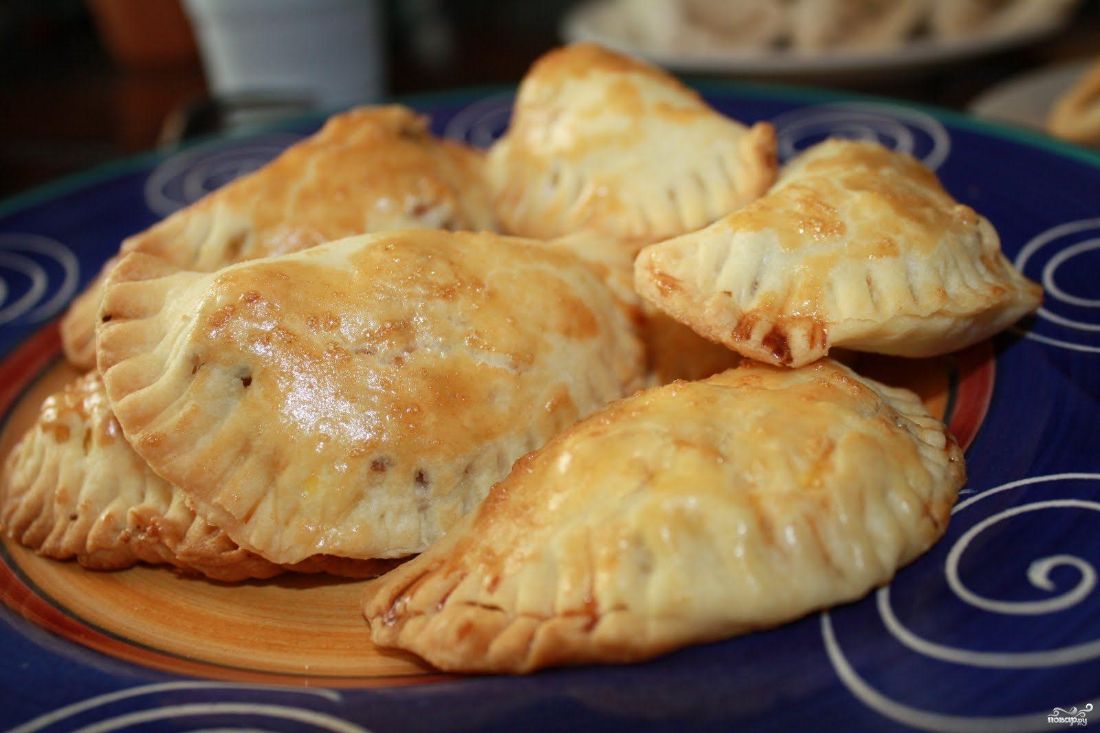 Рецепт Пирожки с картошкой и ливерной колбасой