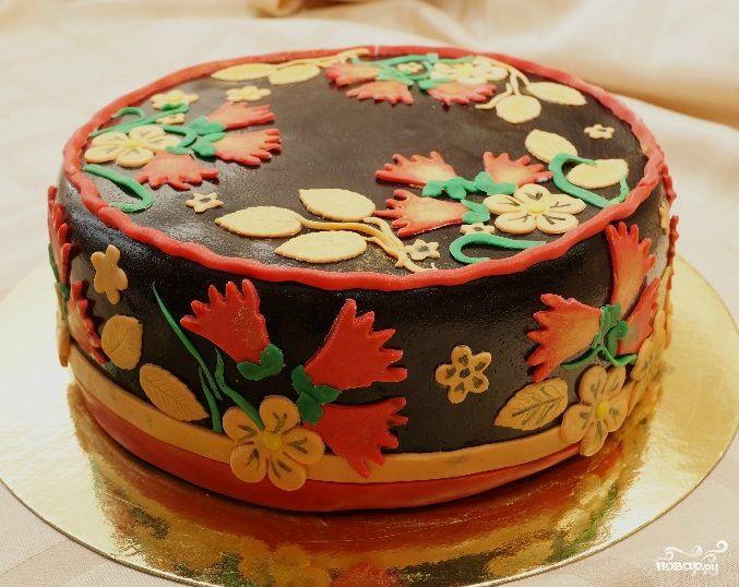 "Торт ""Хохлома"""