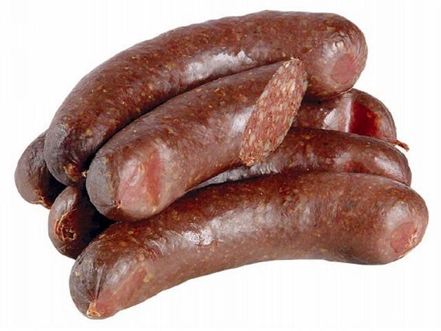 Рецепт Кровяная колбаса