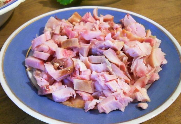 шаурма с копченой курицей рецепт с фото