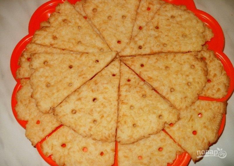 Коктейльное печенье с сыром