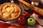 Пирог вместе с яблоками