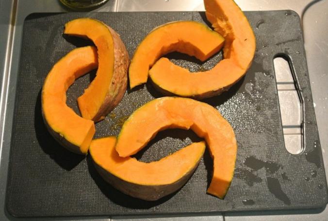 Рецепт Запеченная тыква в духовке кусочками