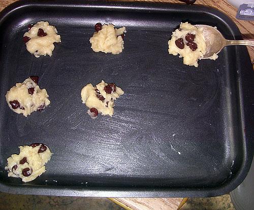 Печенье с шоколадными кусочками - фото шаг 2