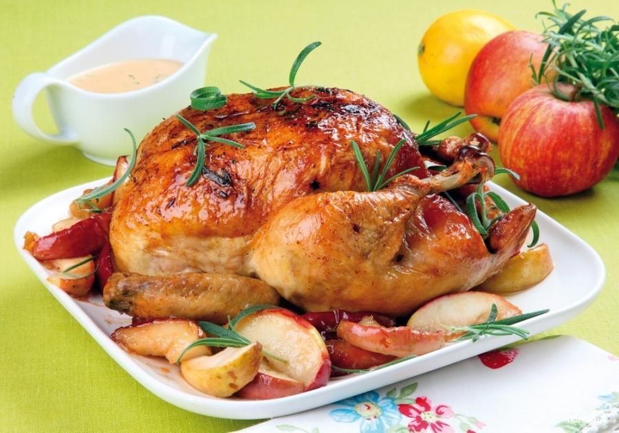 Курица с маслятами - фото шаг 7