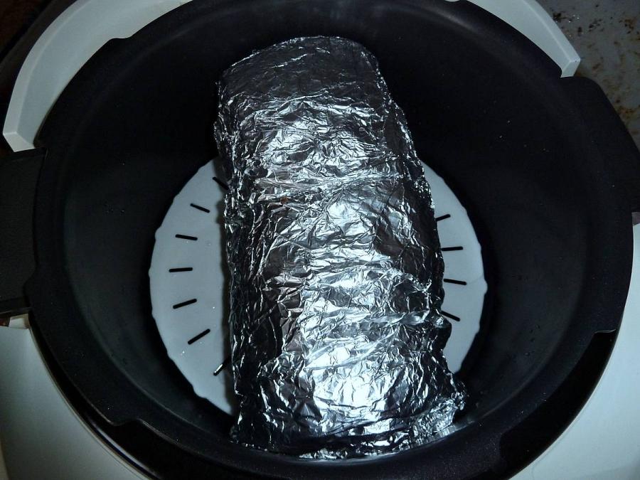 Грудинка в духовке в фольге пошаговый рецепт с из свинины с 58