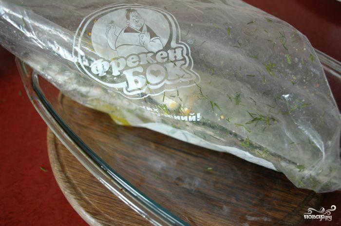 Скумбрия, запеченная в духовке - фото шаг 4
