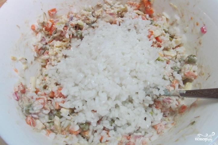 Салат со свининой - фото шаг 4