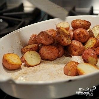 Испанский салат из запеченного картофеля - фото шаг 5