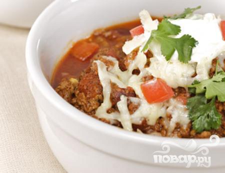 Рецепт Жаркое из говядины, чили и помидоров