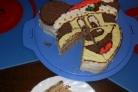 Торт в виде Миккимауса