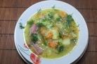 Гороховый суп с рулькой