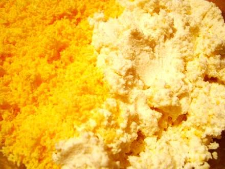 Рецепт Пасха с вареными желтками