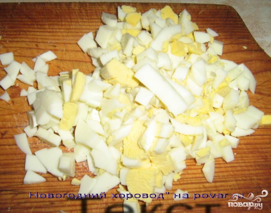 Салат с селедкой и яблоками - фото шаг 3