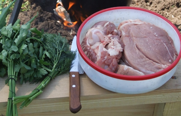 Рецепт Шулюм из свинины
