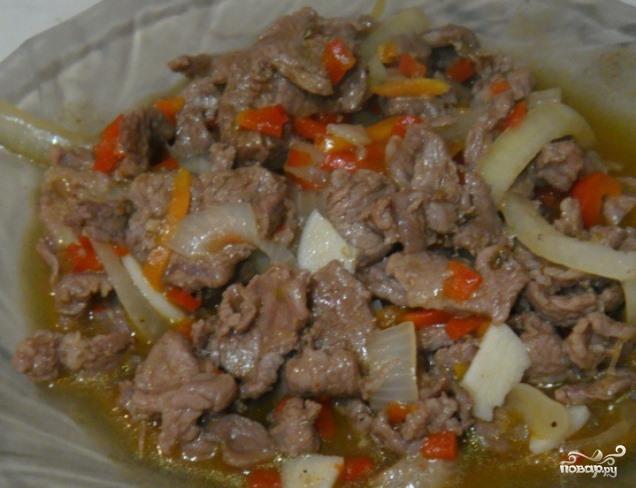 баранина в мятном соусе рецепт