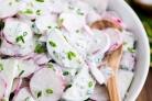 Салат огуречный с редиской