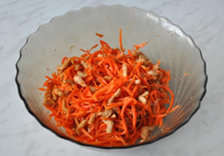 Соевое мясо по-корейски - фото шаг 5