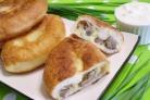 Пирожки постные с грибами