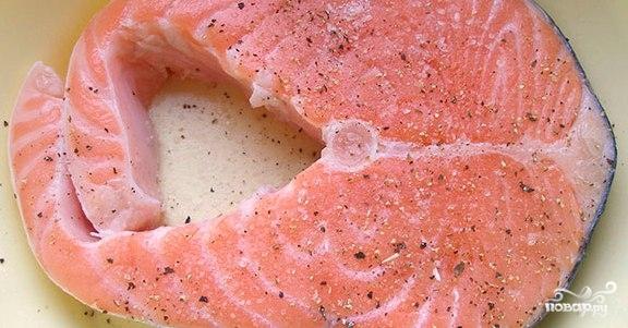 Рыба в сливочном соусе - фото шаг 1