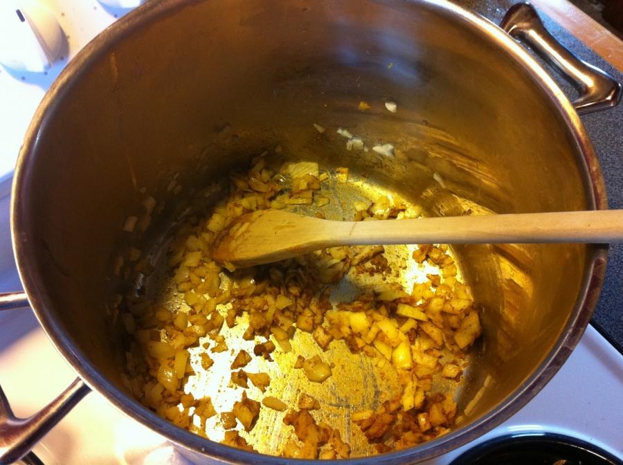 Рецепт Диетический суп из тыквы
