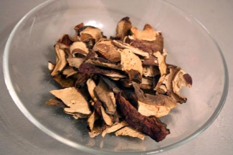 Рецепт Паста с белыми грибами в сливочном соусе
