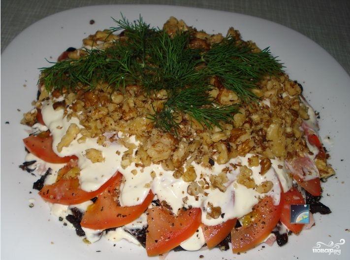 салат нежность пошаговый рецепт с фото
