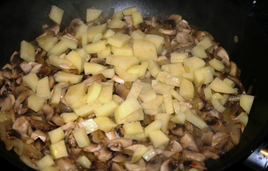 Творожное тесто без яиц - фото шаг 4